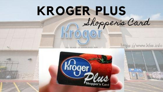 kroger shoppers card